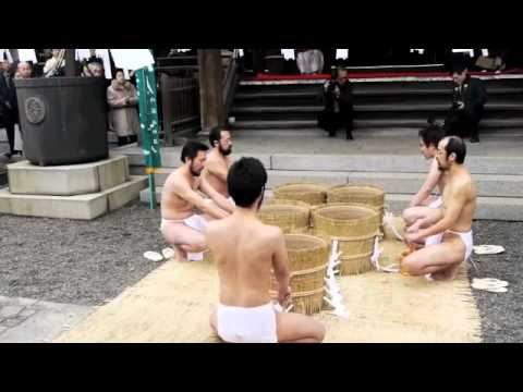 Japanese buddhism Nichiren austerities ceremony 2011(池上実相寺荒行成満式)