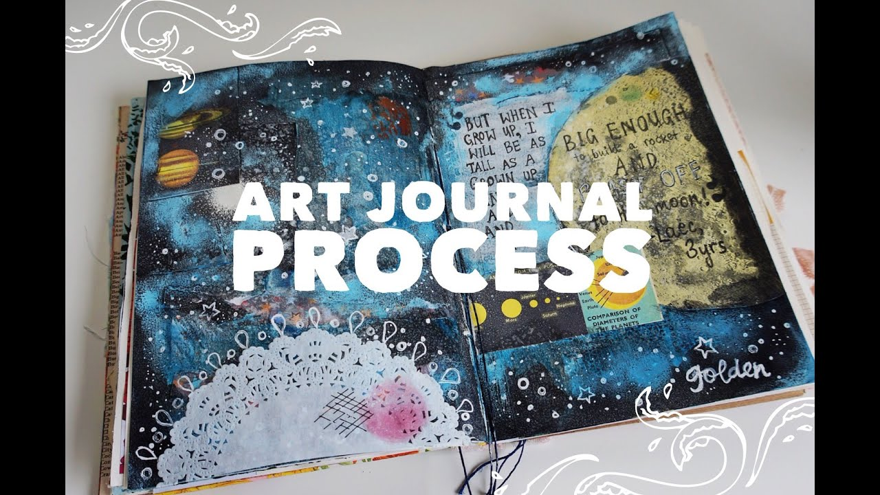 How To Start An Art Journal Page