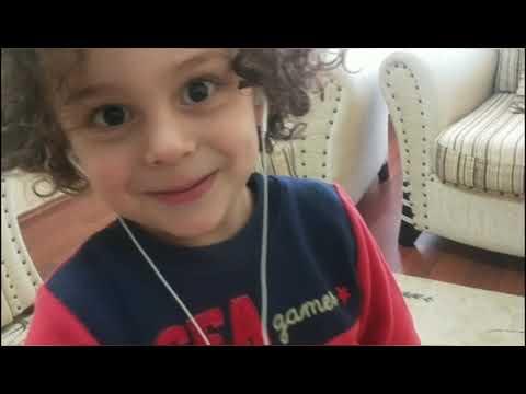 Deniz Ali Hayal Gücünü Kullandı Olmayan Tabletle Oynadı Müzik Dinledi🥰 Eğlenceli çocuk Videoları