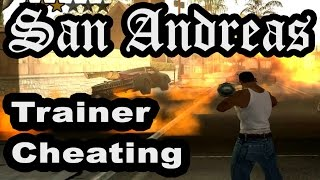 GTA San Andreas Cheating With Trainer