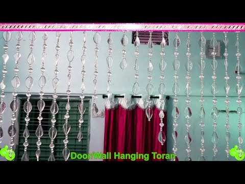 How To Make Door Hanging Toran | Beaded Toran | Toran Designs Handmade |  Home Decorating