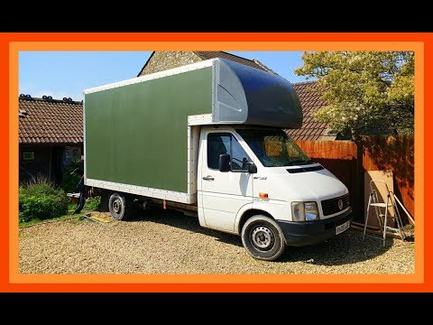Repeat Ford Transit Luton To Motorhome Conversion Act 1 by