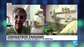 Coronavirus pandemic: France opens up vaccine eligibility to over 55s