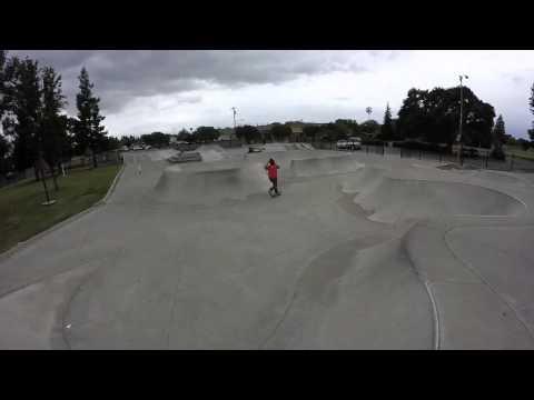 Stockton skatepark by pig pen