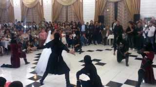 Dance Lezginka in Marneuli Wedding Barish (Barish. Eynar. Tabo. Orxan. Elrad. Senan...)