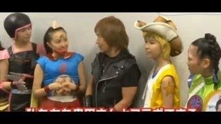 動画 ももクロが筋肉マンのコスプレ披露 Animelo Summer Live 2013 -FLA...