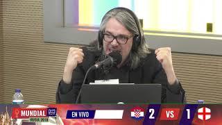 El comentario de  Martín de Francisco en Croacia vs Inglaterra Í RCN Radio
