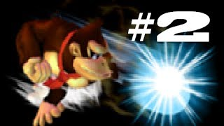 Let's Play Super Smash Bros. Melee | Part 2 | DONKEY KONG PAWNCH!!!