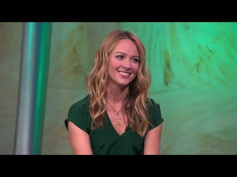 Amy Acker 'The Gifted' interview FOX 11   Los Angeles