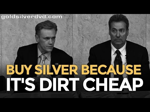 Buy Silver Because It's Dirt Cheap - Mike Maloney & David Morgan