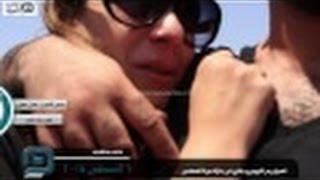 بالفيديو | انهيار بشرى وريم البارودي في جنازة ميرنا المهندس