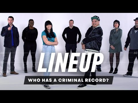 Guess Who Has a Criminal Record | Lineup | Cut