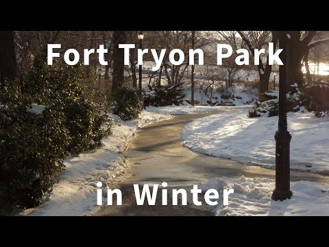 Fort Tryon Park In Winter