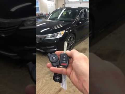 2016 Honda Accord Remote Start