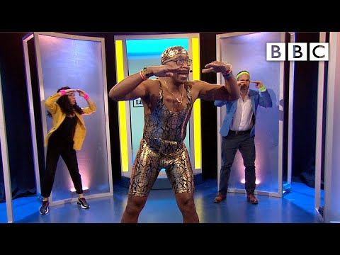 Move your hips to Mr Motivator's hilarious lockdown workout - BBC