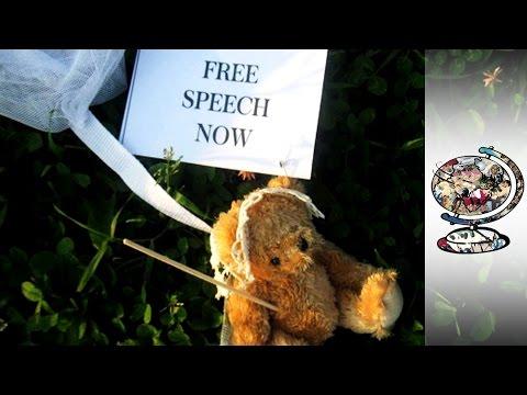 Democracy Promoting Teddy Bears In Belarus (2012)