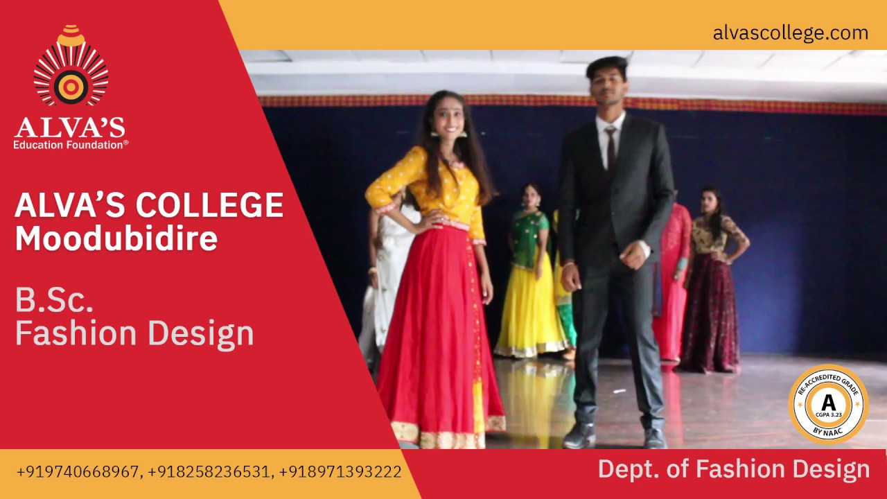 Fashion Designing Alva S College Moodubidire Affiliated To Mangalore University