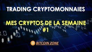 Trading Cryptomonnaies : Mes Cryptos De La Semaine Du 4 Au 10/09/2017 #1