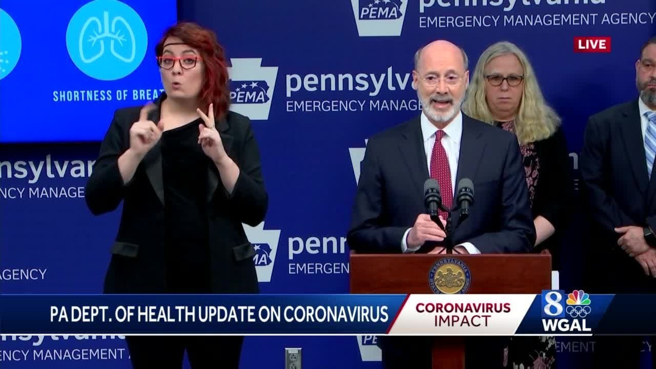 Gov. Wolf Orders Montco Schools Closed Amid Coronavirus Outbreak