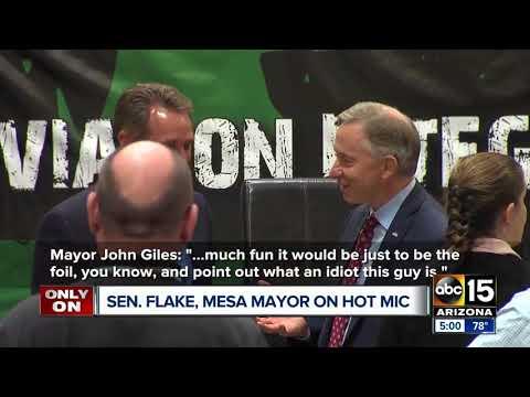 Senator Jeff Flake and Mesa