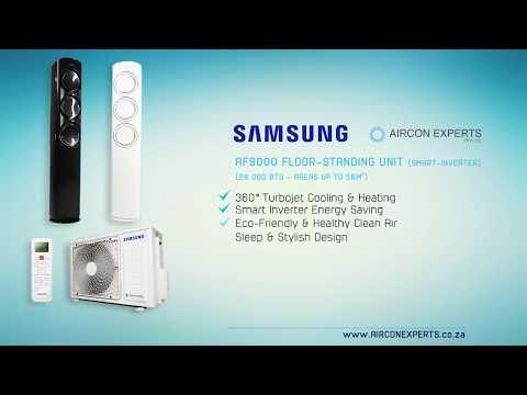 Samsung Af9000 Floor Standing Air Conditioning Unit Smart