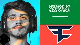 أول عربي يدخل فيز ؟ | First Saudi in #FaZe5 ?