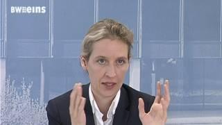 Alice Weidel im AfD-Spitzenteam