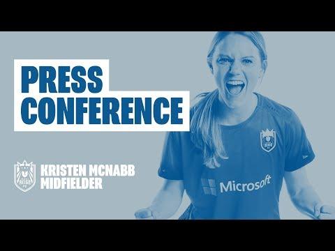 Post-Match Press Conference: Kristen McNabb // Seattle Reign FC