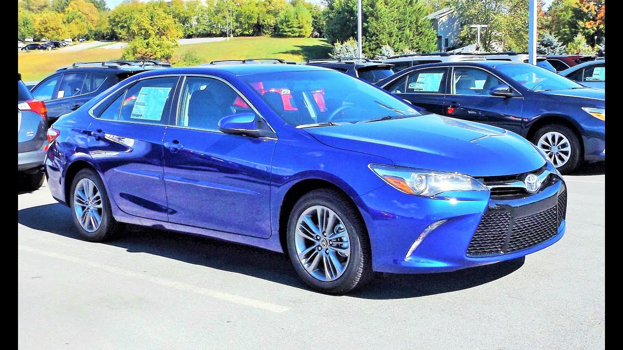 2016 Toyota Camry Se Start Up Review And Tour
