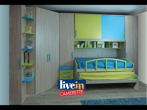 Cameretta con cabina armadio e due comodi letti. - YouTube