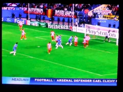 Atletico Madrid vs Chelsea (All goals) - Aguero two great goals
