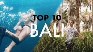 TOP 10 BALI (TRAVELLERS PARADISE) - Stafaband