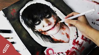 JEFF THE KILLER IN REAL LIFE | Drawing + Creepypasta