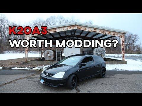 Is the K20a3 Worth Modding? | 2003 Honda Civic Si EP3