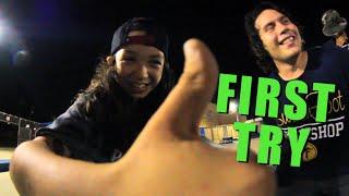 First Try Friday - Jp Garcia Half Cab Kickflip