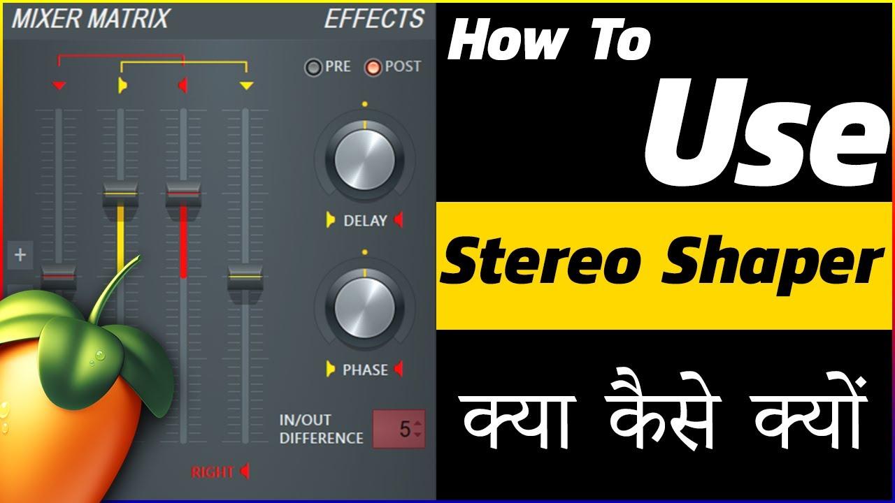 Stereo shaper vst