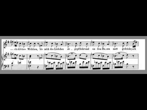 Das Veilchen - Mozart - High Key G - Accompaniment