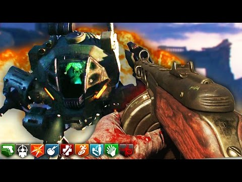 """BLACK OPS 3 ZOMBIES """"GOROD KROVI"""" SOLO EASTER EGG MOST INTENSE COMPLETION EVER! (BO3 Zombies)"""