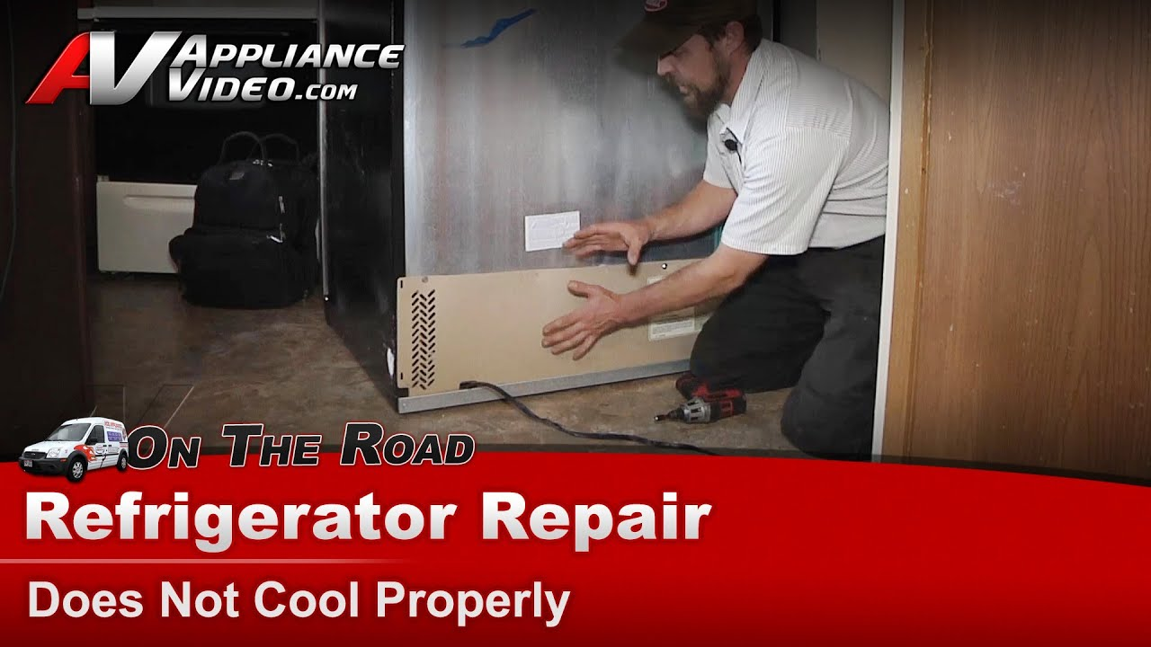 Frigidaire Refrigerator Repair Does Not Cool Properly