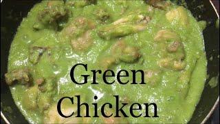 Green chicken  Chicken curry recipe  Spice n Sizzle #14