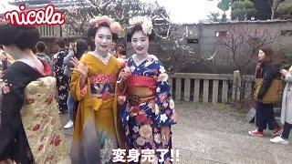 中3㋲みんなで京都にいってきたよ~! 食べておしゃスポット行って、舞...