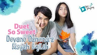 Download Devano Danendra & Aisyah Aqilah Nyanyiin lagu Teman Cintaku, So Sweet Mp3