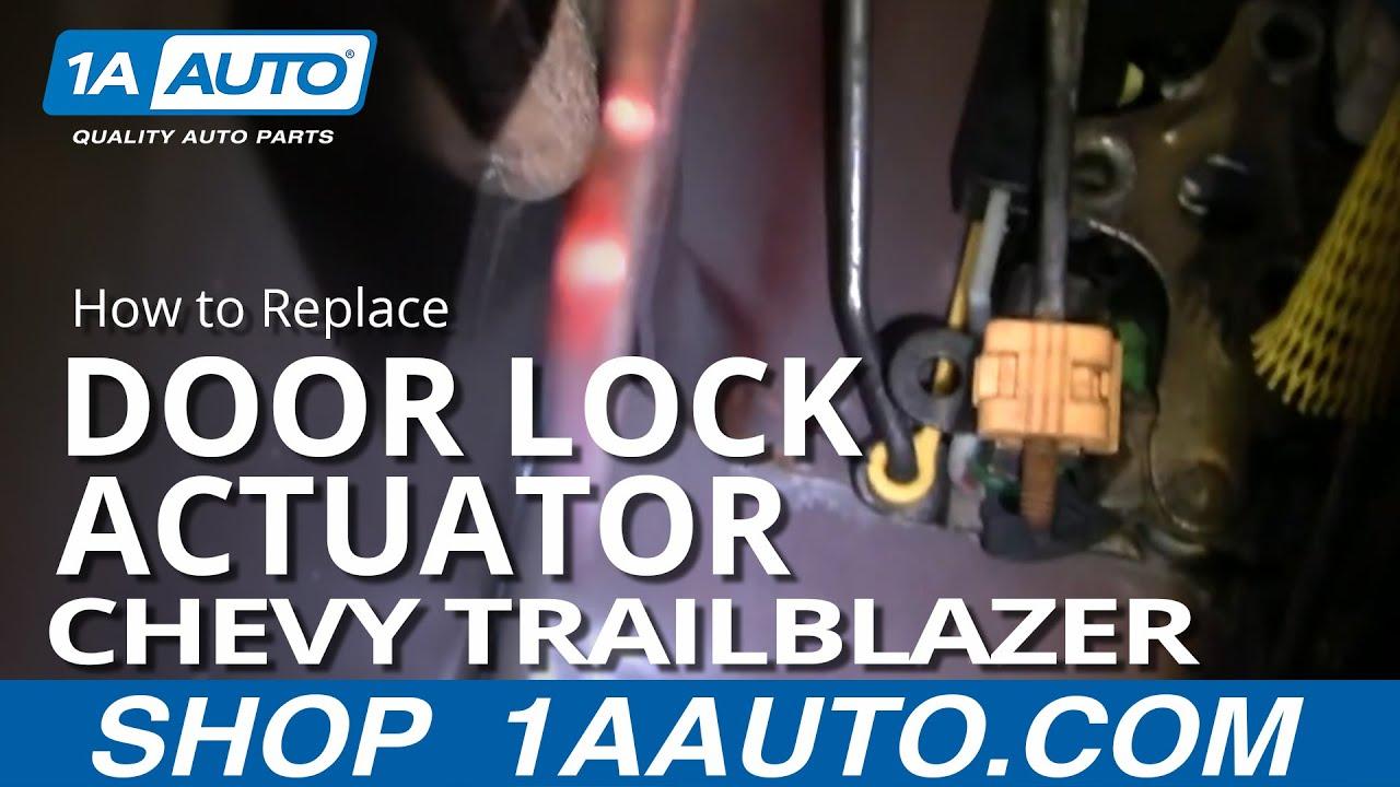 how to replace door lock actuator 02 06 chevy trailblazer [ 1280 x 720 Pixel ]