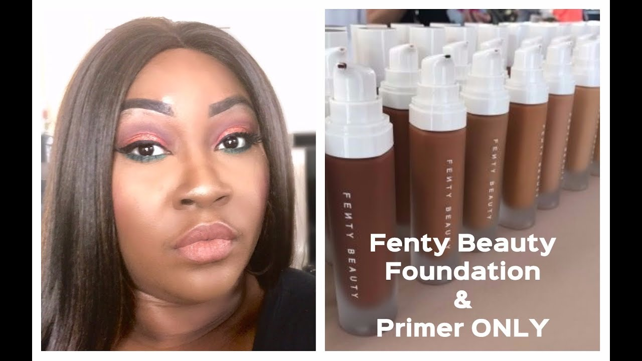 fenty beauty foundation primer first impression wear test final thoughts youtube. Black Bedroom Furniture Sets. Home Design Ideas