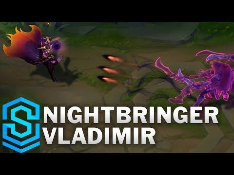 Nightbringer Vladimir Skin Spotlight - League of Legends