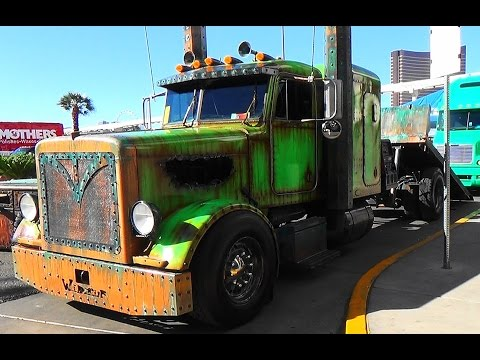 "Welderup  Rat Rod Peterbilt ""Swamp A**""  SEMA 2015"
