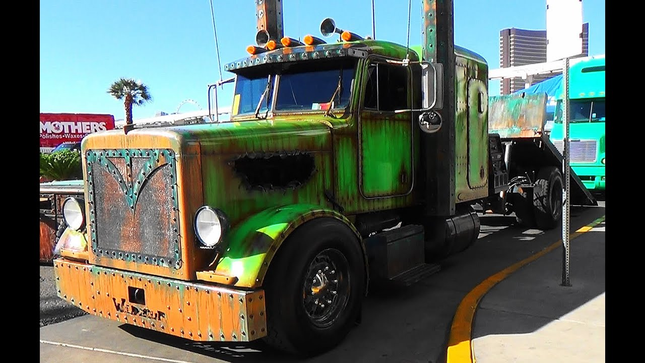 Welderup Rat Rod Peterbilt Quot Swamp A Quot Sema 2015 Youtube