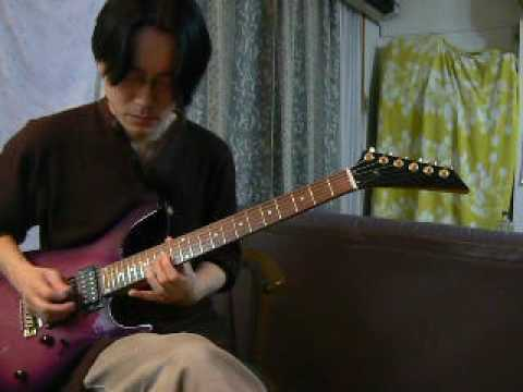 Perfume - Zero Gravity  (⊿) cover Guitar Version by Cozy