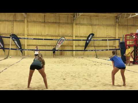 Emily Moore Beach Volleyball College Recruit Class 2018 Overall Highlights Early 2017