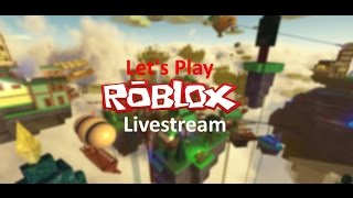 Roblox Live Stream | Join me! | road to 200 subs!